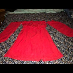 Rachel Kate Red Dress
